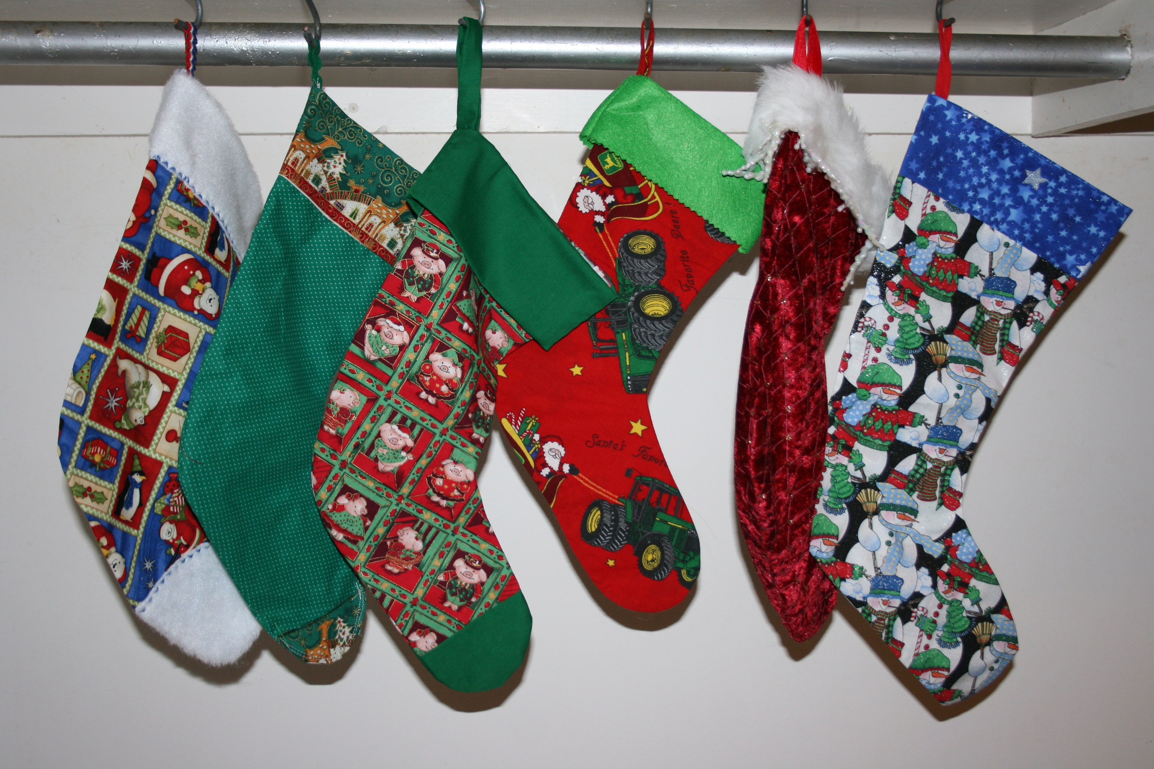 Christmas Stockings for Pine Ridge Reservation